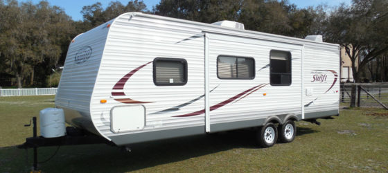 JayFlight Swift Travel Trailer