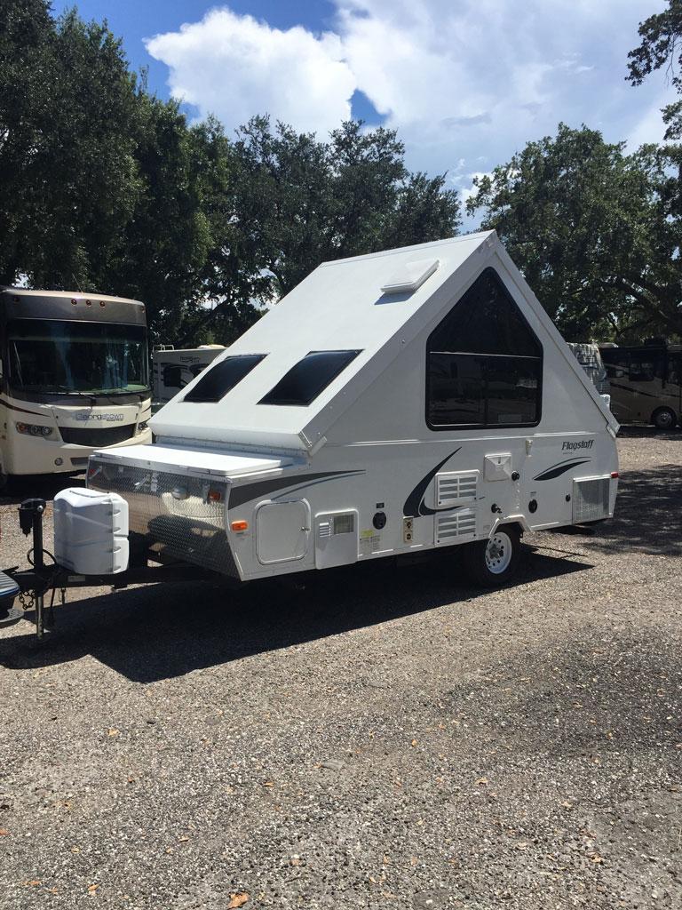 A-Frame Pop Up Camper | Mid-Florida Camper Rentals Tampa Travel ...