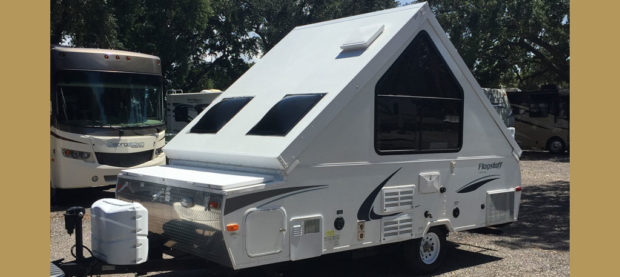 A-Frame Pop Up Camper